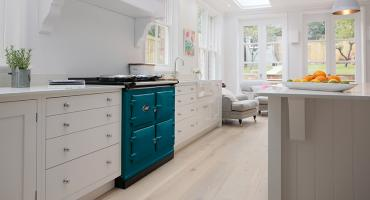 AGA Total Control in Salcombe Blue