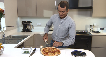 Make pizza on your AGA cooker