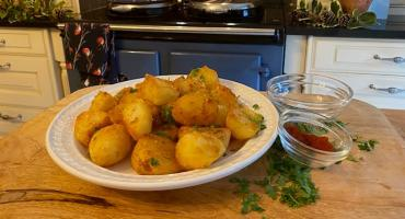 Triple Cooked Roasted Goose Fat Potatoes