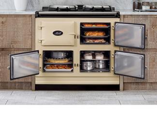 AGA Dual Control in cream open