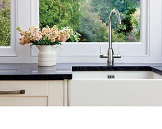 AGA Tap over a belfast sink