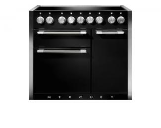 Mercury 1000 with Induction Hob in Black
