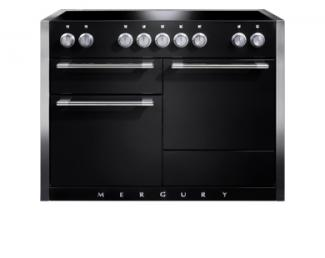 Mercury 1200 in Black with Induction Hob