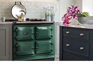 AGA 7 Series 100 in British Racing Green