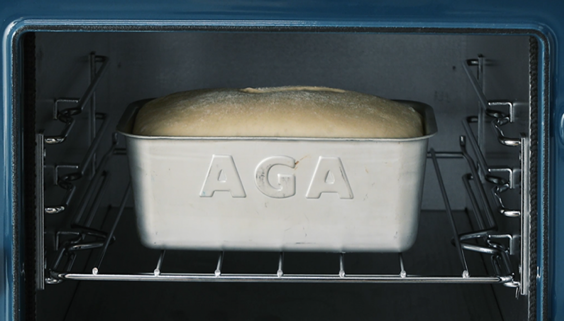 Cookware storage cavity on the AGA eR3 Series
