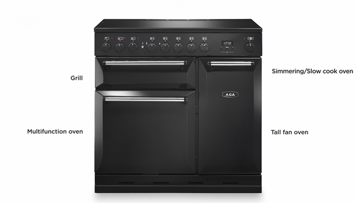 The AGA Masterchef Conventional Cooker