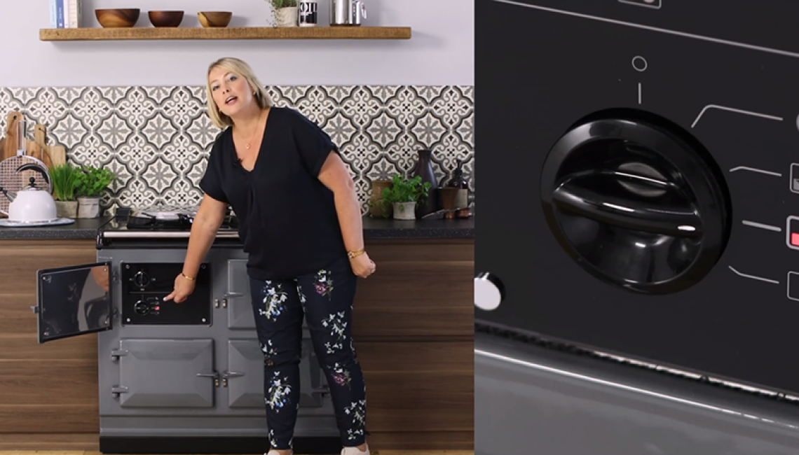 Penny Zako with an AGA R7 Series in Slate