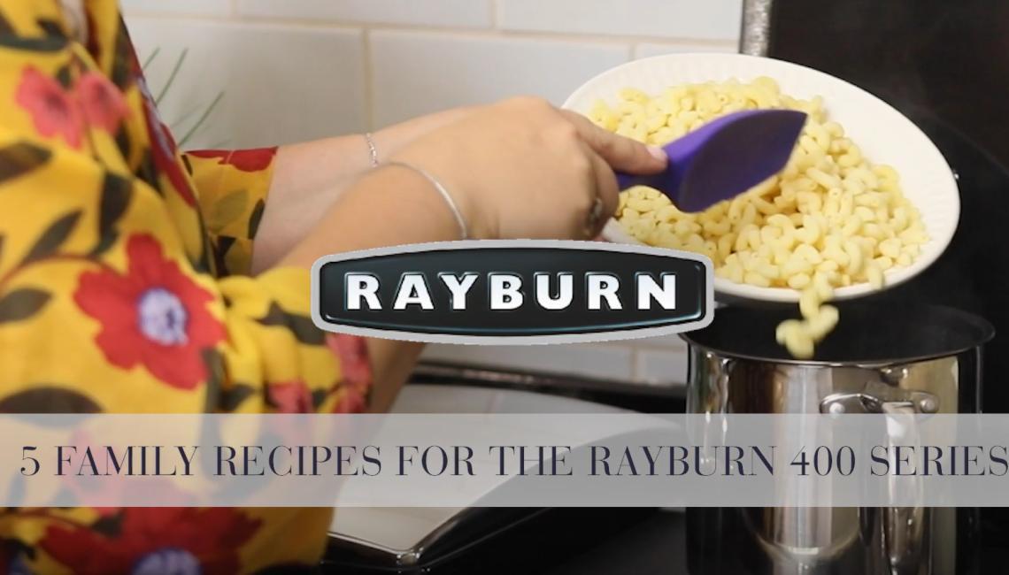 Rayburn 400 Series - Five Family Recipes