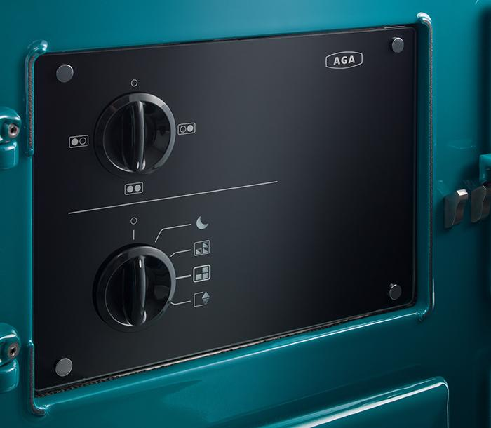 Control panel on the AGA R7 models