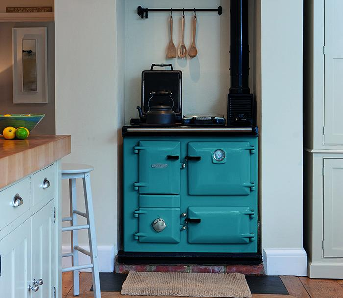 Rayburn 200 Series in Salcombe Blue