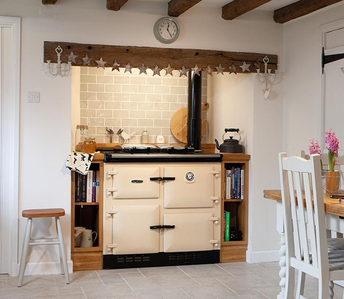 Rayburn cookers can provide central heating
